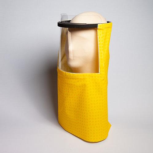 Yellow Geometric Beekeeper Shield Drape