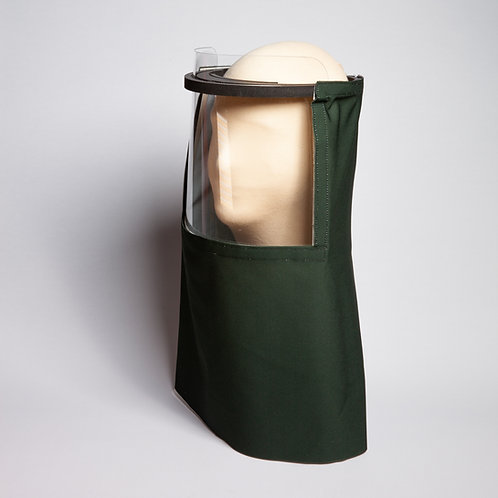 Hunter Green Solid Beekeeper Shield Drape