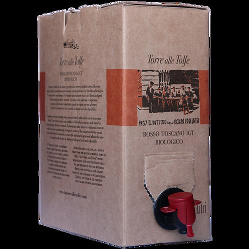 Bag in Box 3 Lt Torre alle Tolfe IGT Toscana Rosso