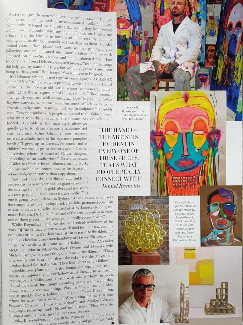 Harpers Bazaar Magazine, Australia 2016