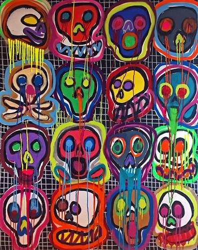 Happy Skulls