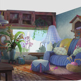 Serina mo_Visual Development_Concept Art_Interior Lighting_Daytime.