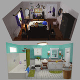 Serina mo_Visual Development_Concept Art_Background Design_Environment Design