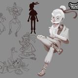 Serina Mo_Visual Development_Concept Art_Character Design_Grandpa