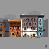 Serina mo_Visual Development_Concept Art_Background Design_Environment Design_Building_sketc