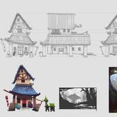 Serina Mo_Visual Development_Concept Art_house turnaround.jpg