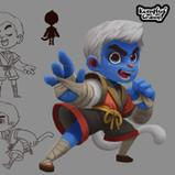 Serina Mo_Visual Development_Concept Art_Character Design_Monkey