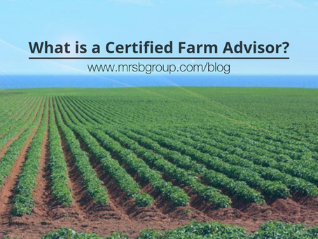 What is a Certified Farm Advisor?