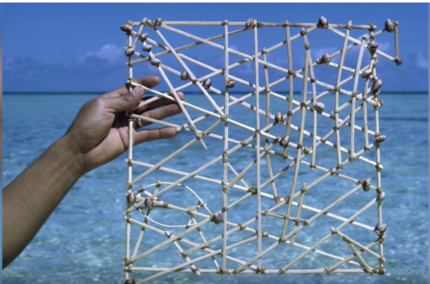 Marshallese stick chart