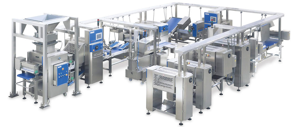 Laminating Line with 2 folding stations