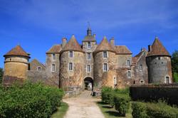 chateau de Ratilly à Treingy