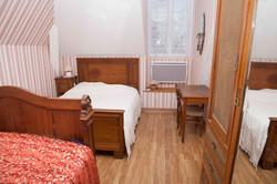 chambre rose 1er étage