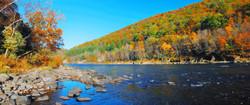 Sam Houston Tennessee River autumn