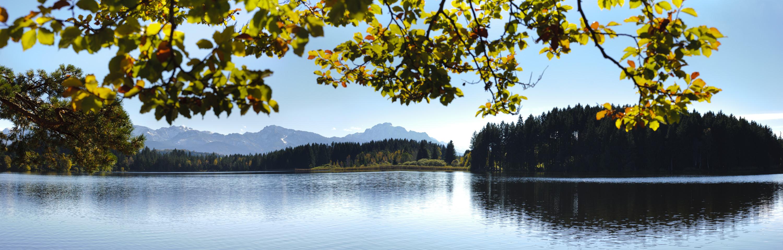 Lake Mountains landscape