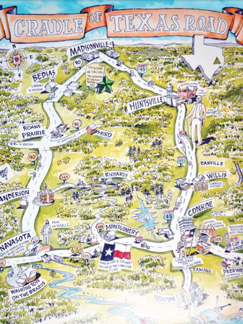 Cradle of Texas Road