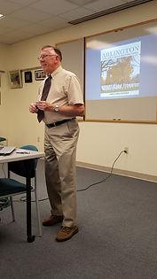 Dad Speaking Arlington.JPG