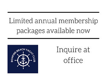 Limited annual membership packages avail
