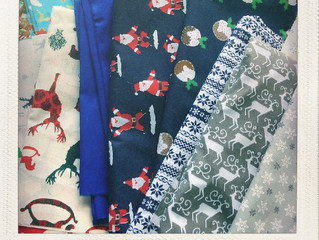 Christmas Fabrics Raring to GO!