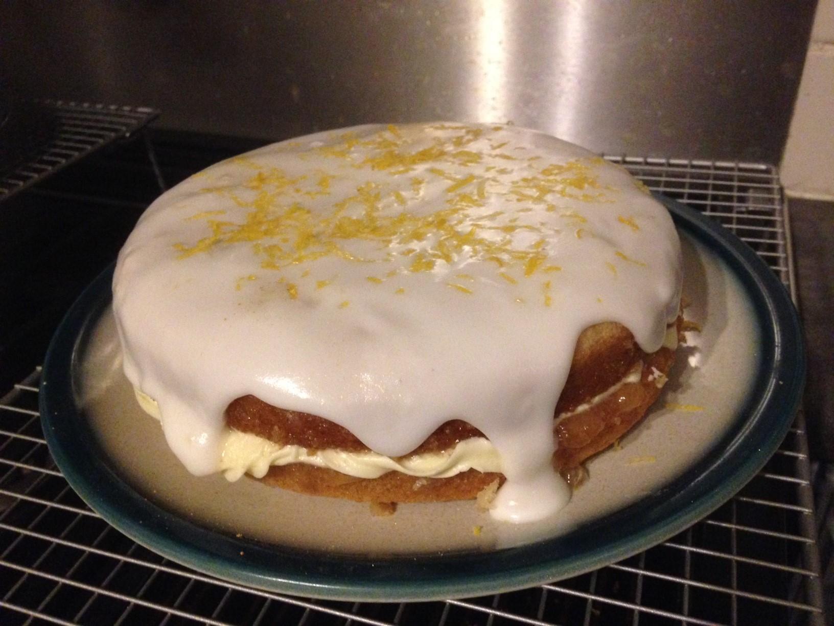 lemony cake