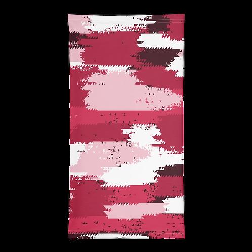 Pink Camouflage Neck Gaiter