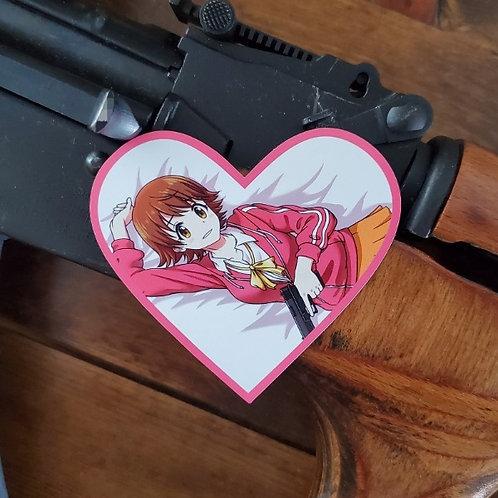 Valentines Mio Honda Magnet