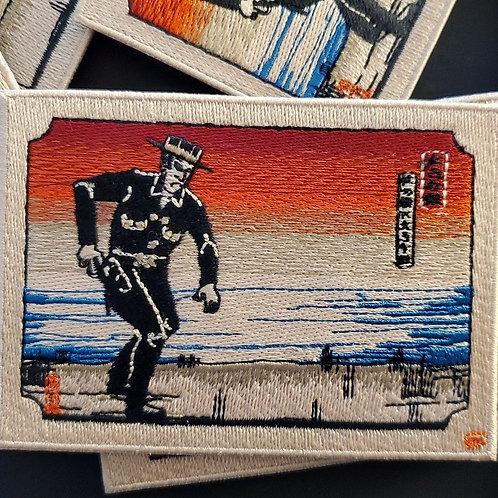 Japanese Big Iron Patch - テキサスレッド