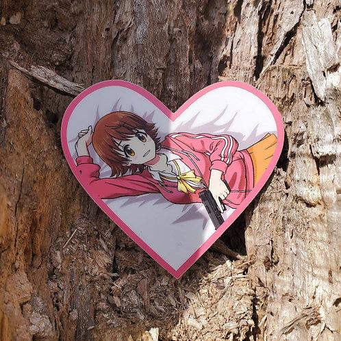 Valentines Mio Honda Sticker