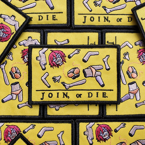 Join, or Die. Patch