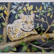 Ocelot in a Tree