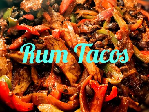 Rum Black Bean & Oumph! Tacos
