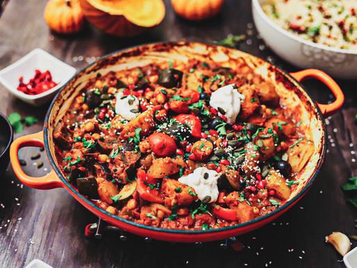 Moroccan Pumpkin Tagine