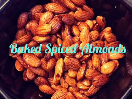 Baked Spiced Almonds