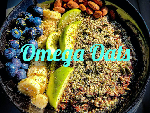 Oaty Omega Breakfast Bowl