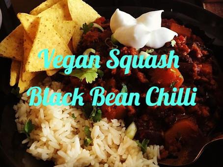 Vegan Squash Bean Chilli