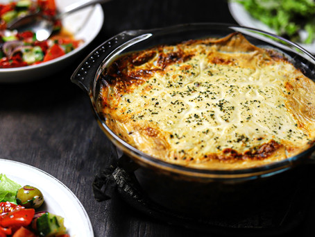 Luxury Vegan Moussaka