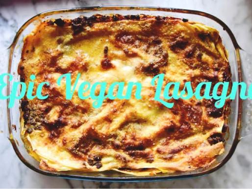 Epic Vegan Lasagne