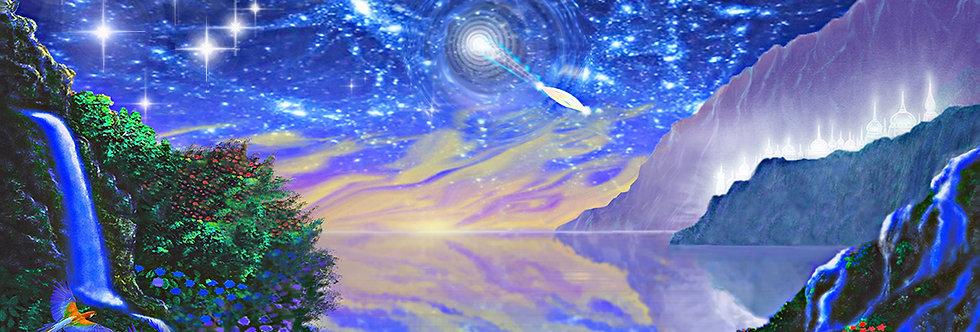 Deep Field Wormhole