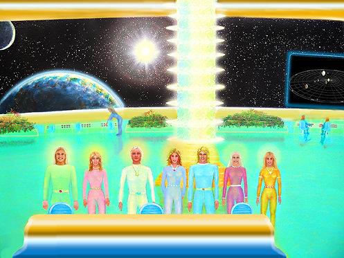 Inside a Starship