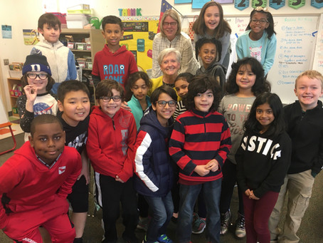 Visit to Alston Ridge Elementary
