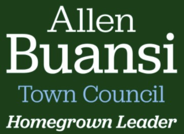 Allen Buansi for Chapel Hill Town Council