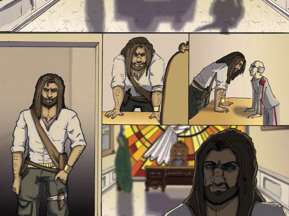 The Retreiver Comic