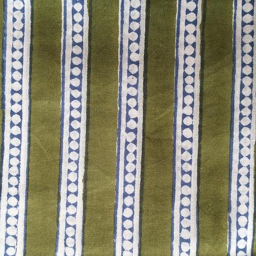 P4016 Green Dot Stripe