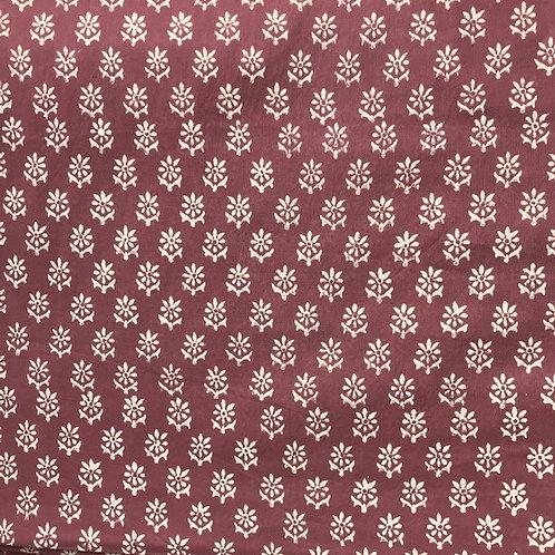 P4075  Bhakti Aubergine pink