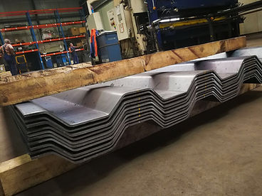 corrugated plates | CPL