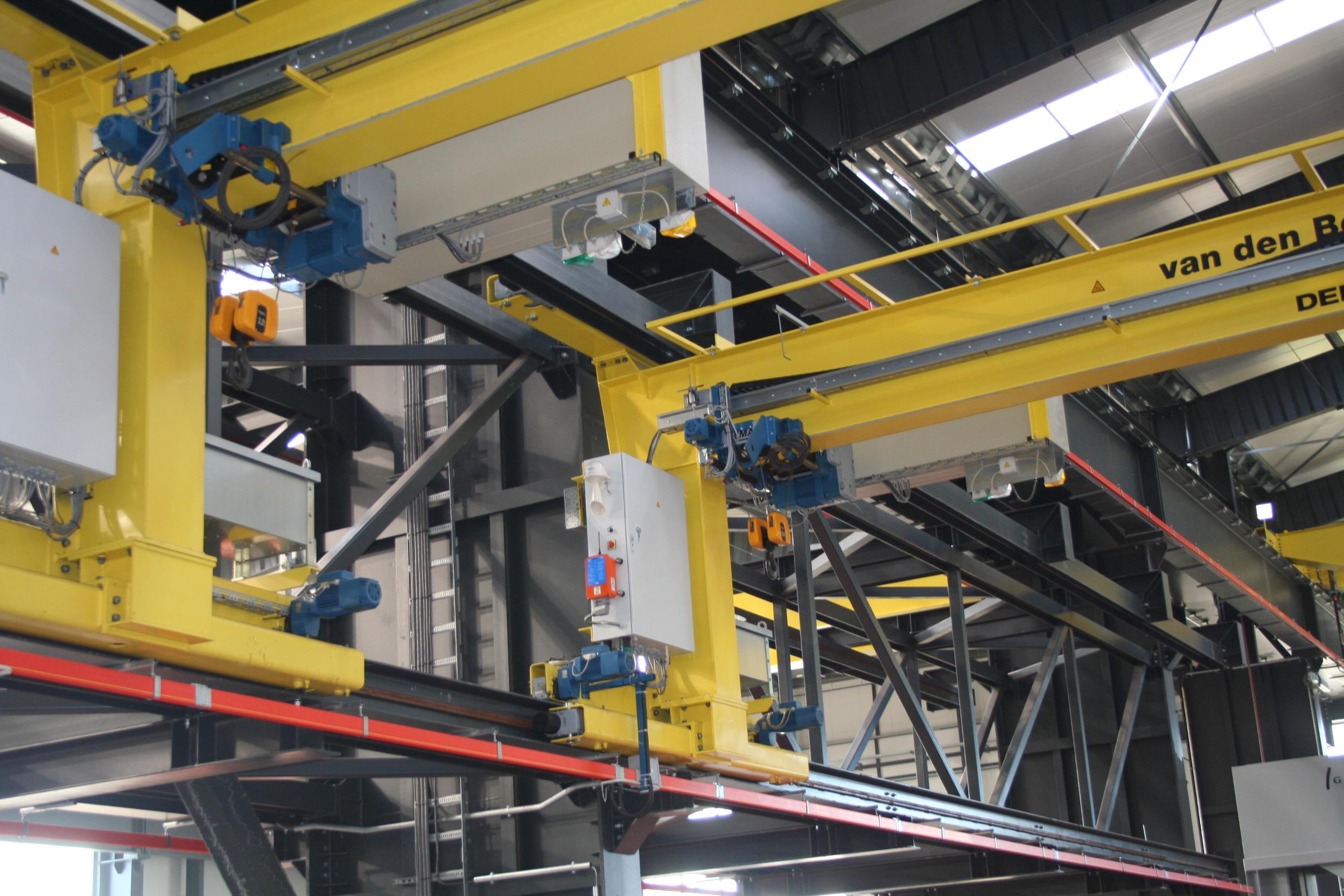 Uitbreiding Europe Steel te Moerdijk