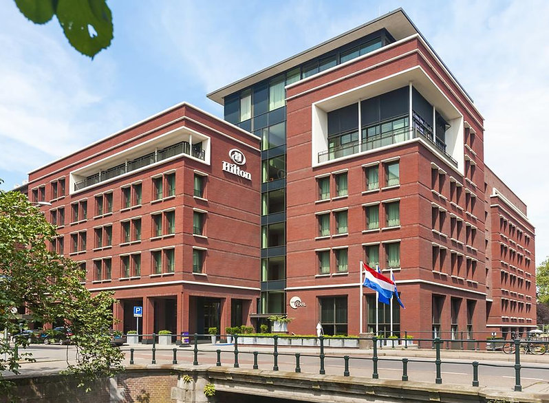Hotel Hilton te Den Haag, steel produced by Staalmeesters