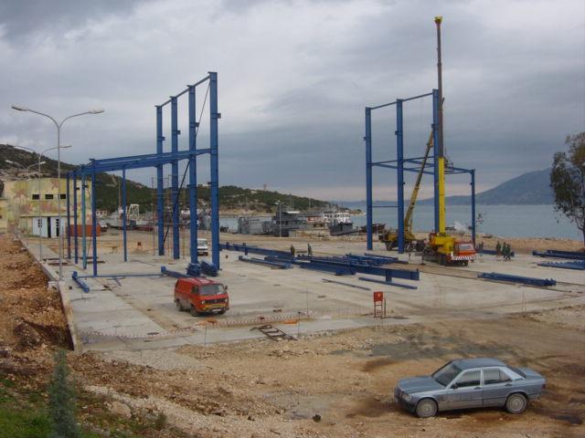 Pashaliman Shipyard te Vlöre, Albani