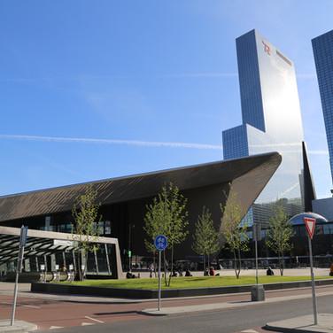 Trainstation Entrance, Rotterdam