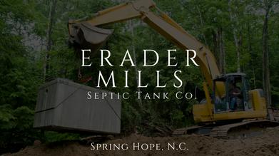 Erader Mills Septic Tank Co.