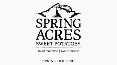 Spring Acres Sweet Potatoes
